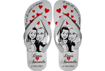 Chinelos Personalizados para Casamentos e Eventos
