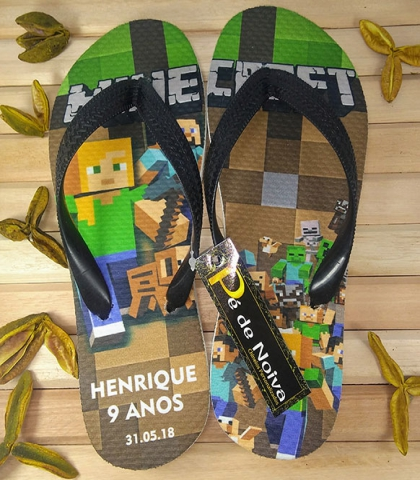 Chinelo Infantil para Anivers�rio