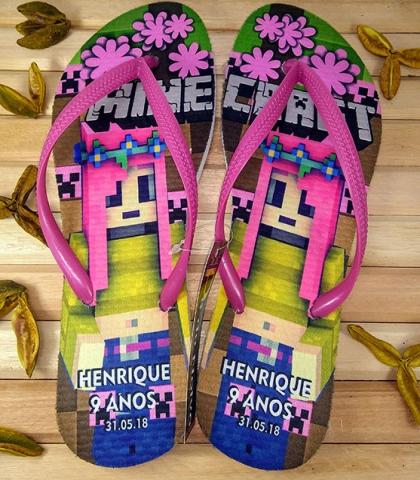 Chinelos Personalizados Havaianas Infantil