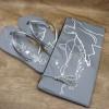 Chinelos Personalizados de Casamento
