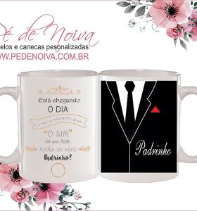 Caneca Convite de Casamento