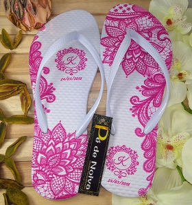 Chinelo Customizado para Debutantes